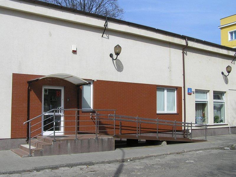 Budynek dawnego kina Sokół na ulicy Paca 42