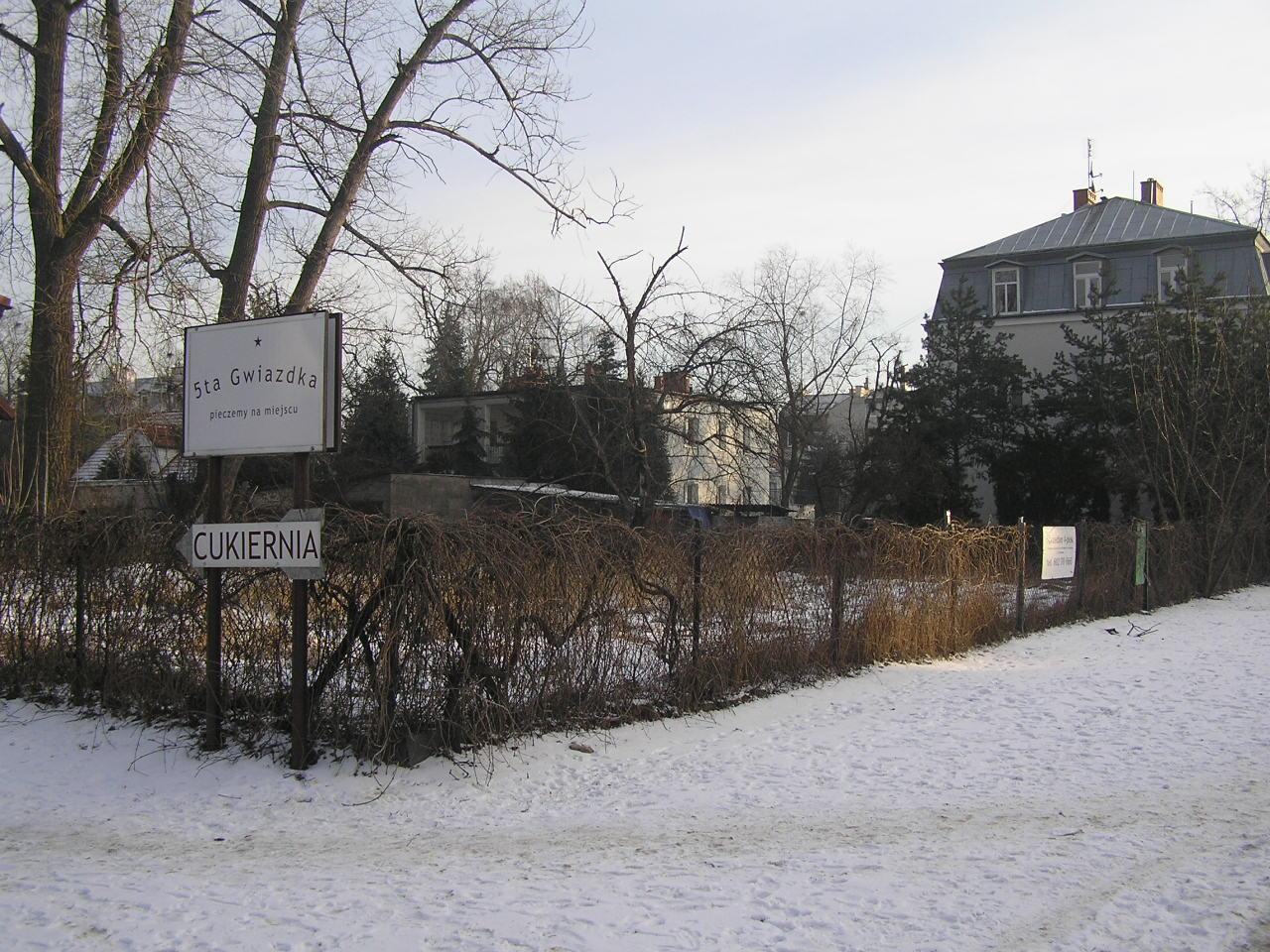 SKO odrzuca warunki zabudowy działki przy Szaserów 62