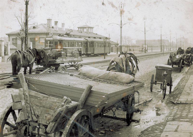 90 lat temu przejechał pierwszy tramwaj ulicą Grochowską