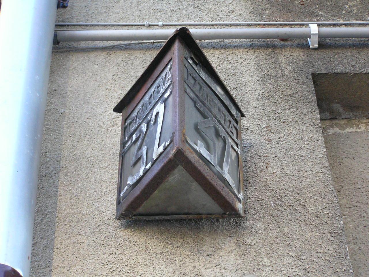 Latarenka adresowa - Czapelska 32