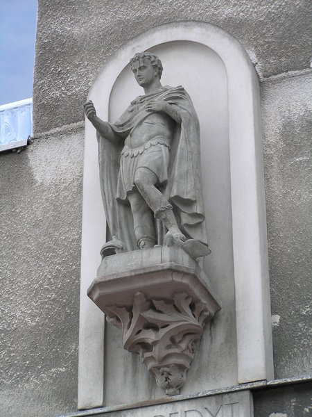 Figura św. Ekspedyta - Grochowska 263