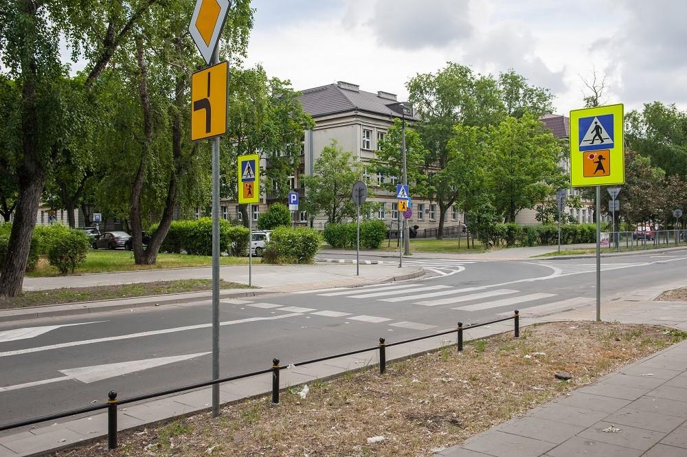 Ulica Międzyborska, fot. ZDM