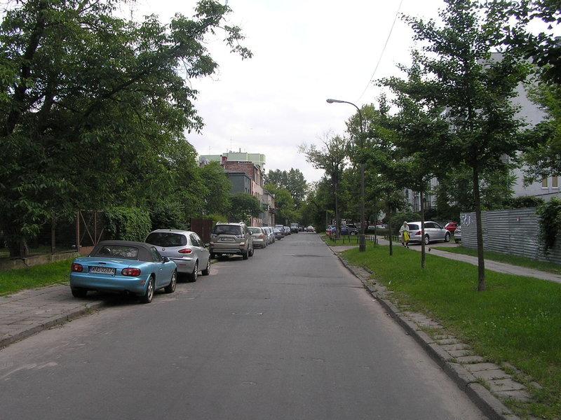 Ulica Mlądzka na Grochowie