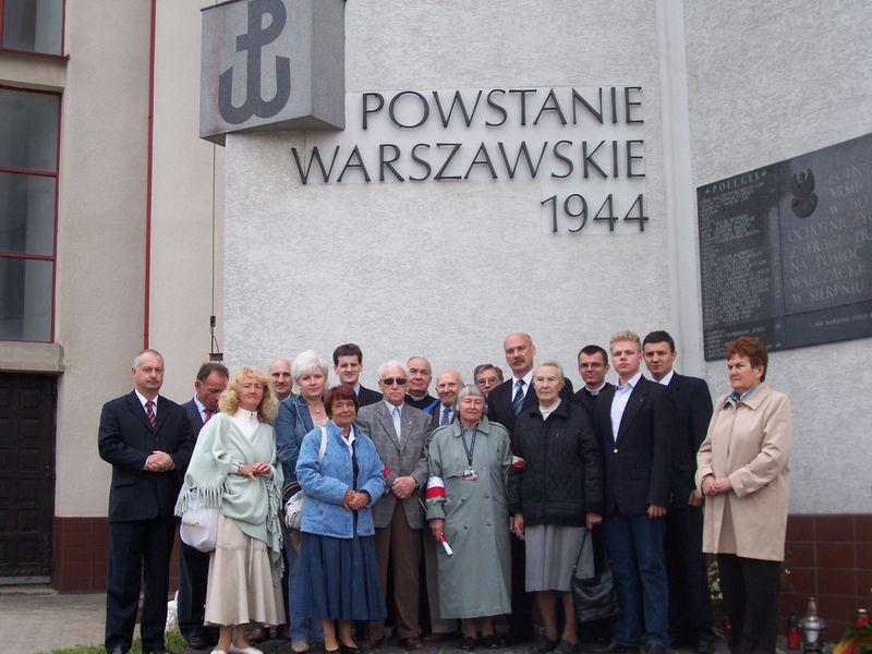 Obchody 63. rocznicy wybuchu Powstania Warszawskiego