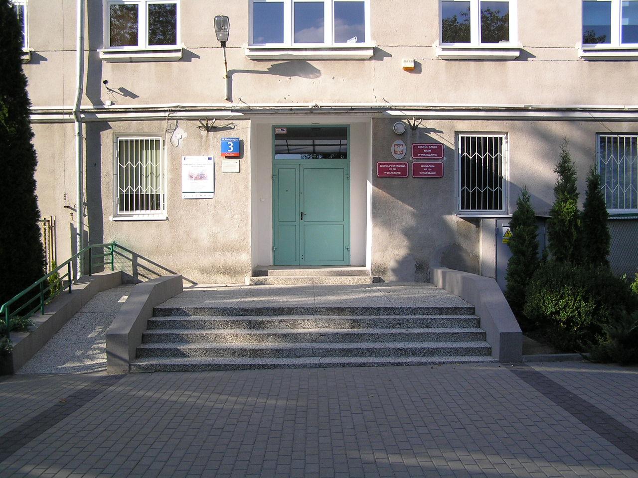 Prezydent Lech Kaczyński rozpoczął rok szkolny na Grochowie
