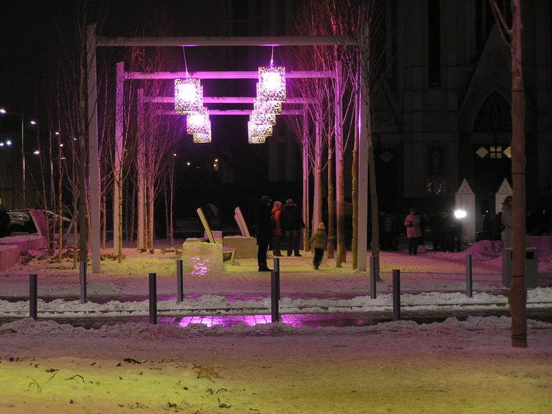 Nowy Plac Szembeka padł ofiarą zbieraczy złomu