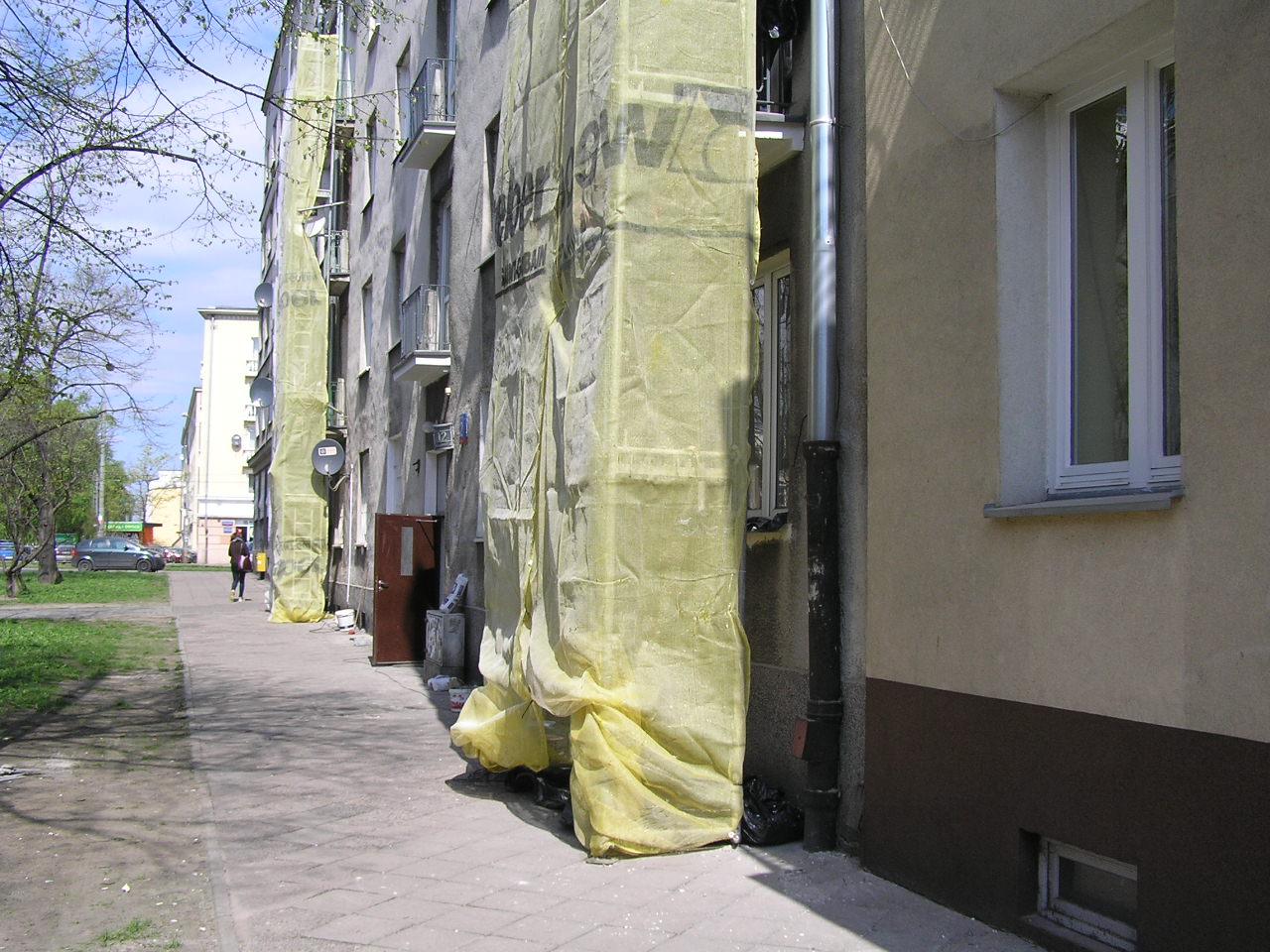 Zakończył się remont balkonów na Siennickiej 12