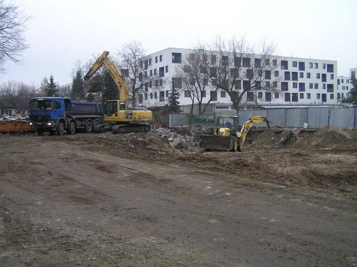 II etap budowy osiedla Szaserów rozpoczęty
