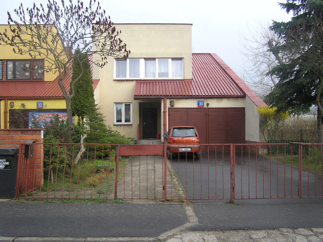 Dom przy ulicy Filomatów 30 na Grochowie w Warszawie