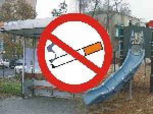 Zakaz palenia tytoniu na przystankach i placach zabaw
