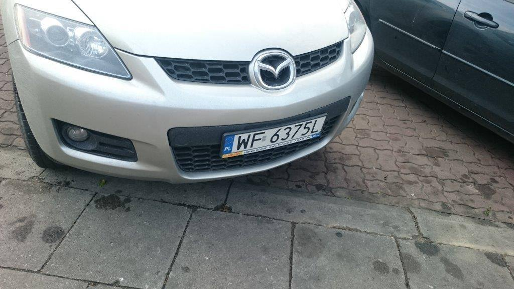 Skradziono mazdę 6 CX-7