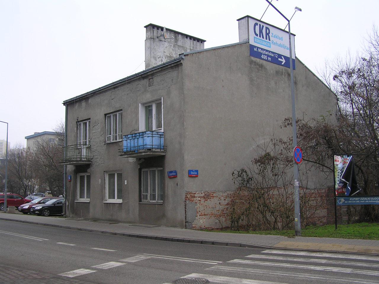 Budynek przy Czapelskiej 14 na Grochowie
