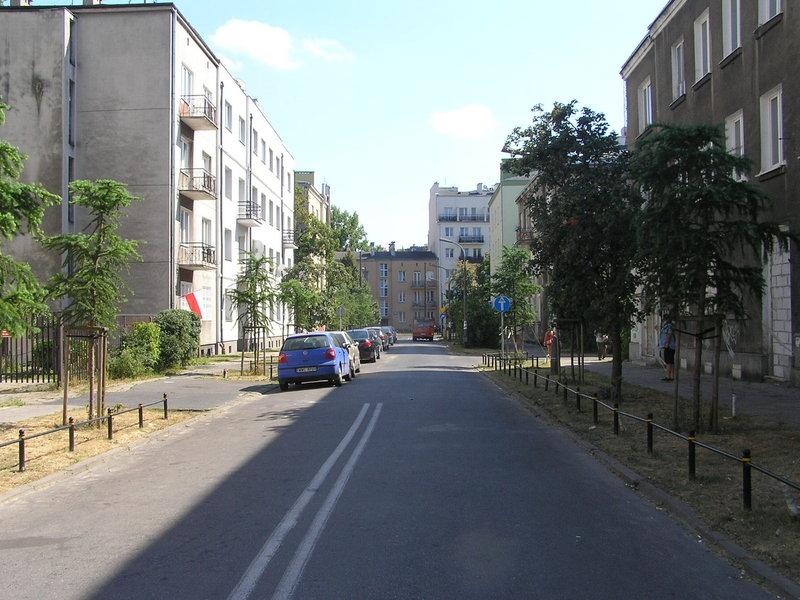 Ulica Modrzewiowa