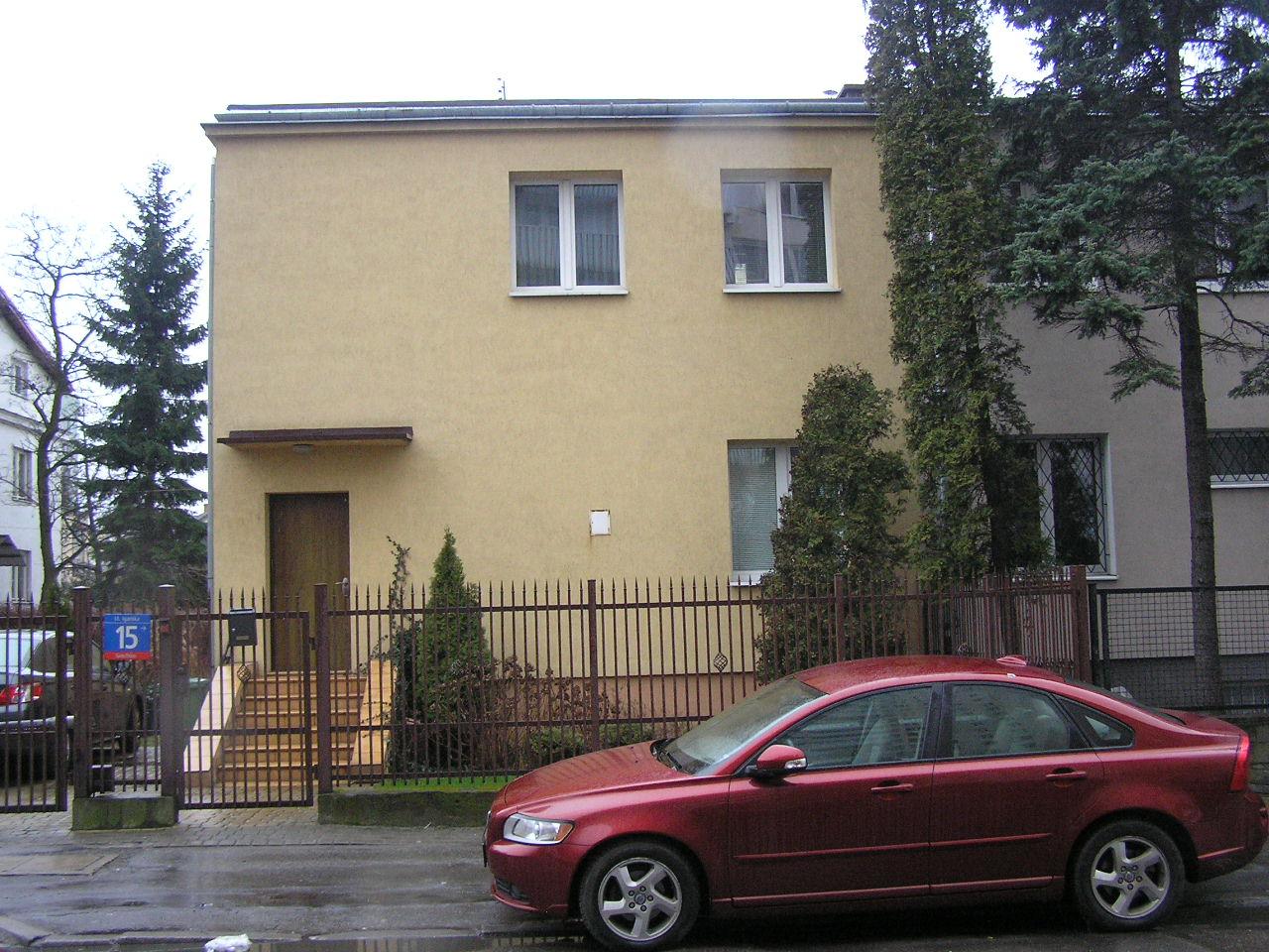 Dom przy ulicy Igańskiej 15 na Grochowie
