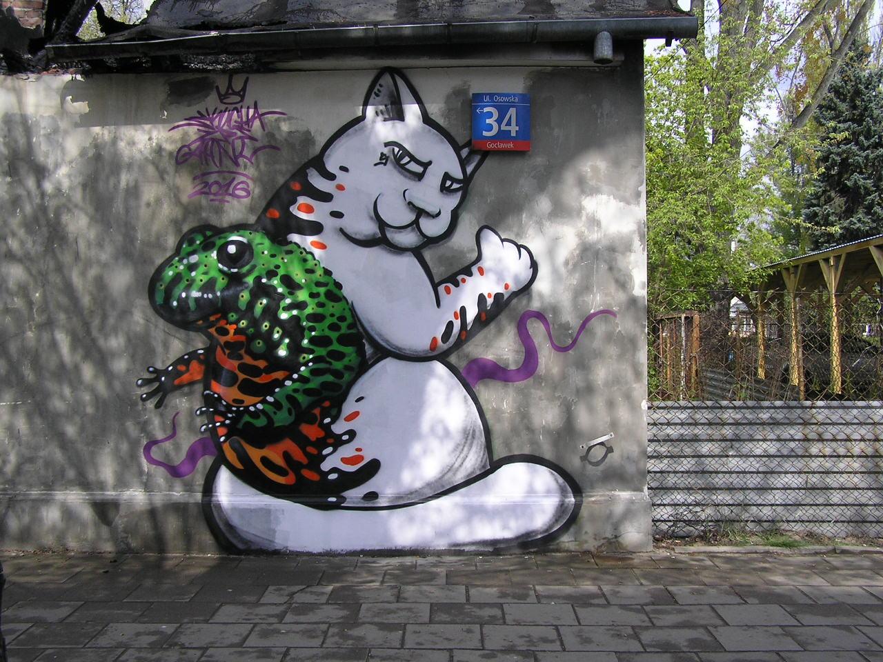Mural - Osowska 34