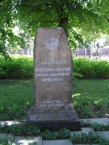 Pomnik Poległym za Ojczyznę 1939-1945