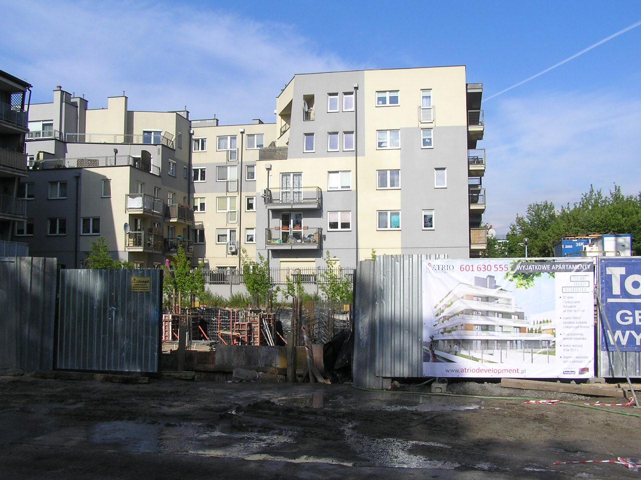 Budowa przy Beskidzkiej na Grochowie