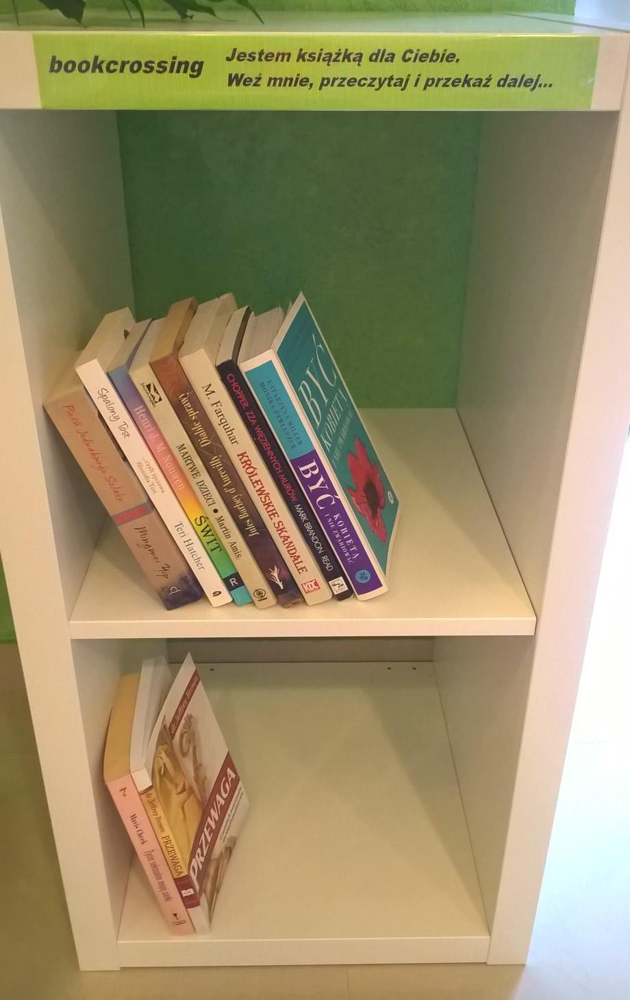 Uwolnij książkę i dziel się radością czytania!