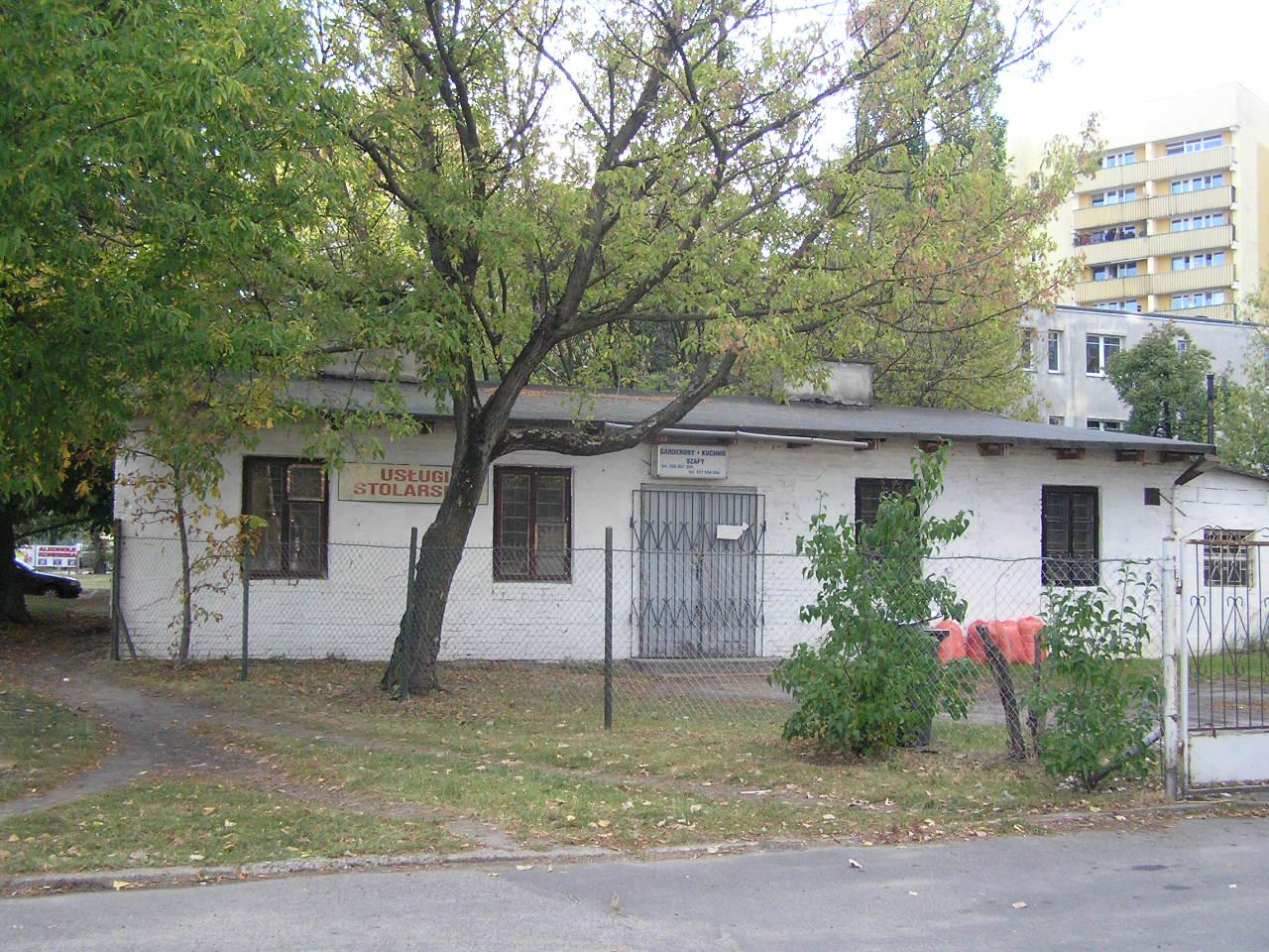 Budynek przy ulicy Majdańskiej 41 na Grochowie