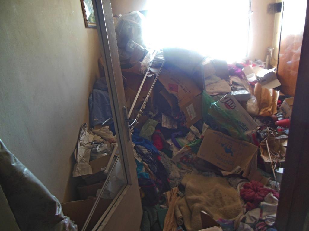 Pożar mieszkania przy Kickiego 26