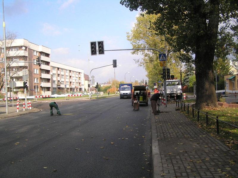 II etap remontu nawierzchni ulicy Chłopickiego