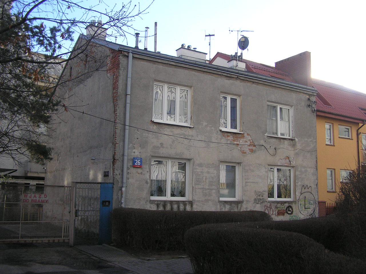 Kamienica przy ulicy Nasielskiej 26 na Grochowie