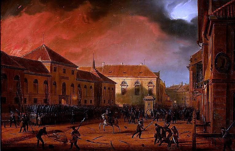 Obchody 177.  Rocznicy Wybuchu Powstania Listopadowego
