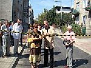 Ulica Kiprów otwarta po przebudowie