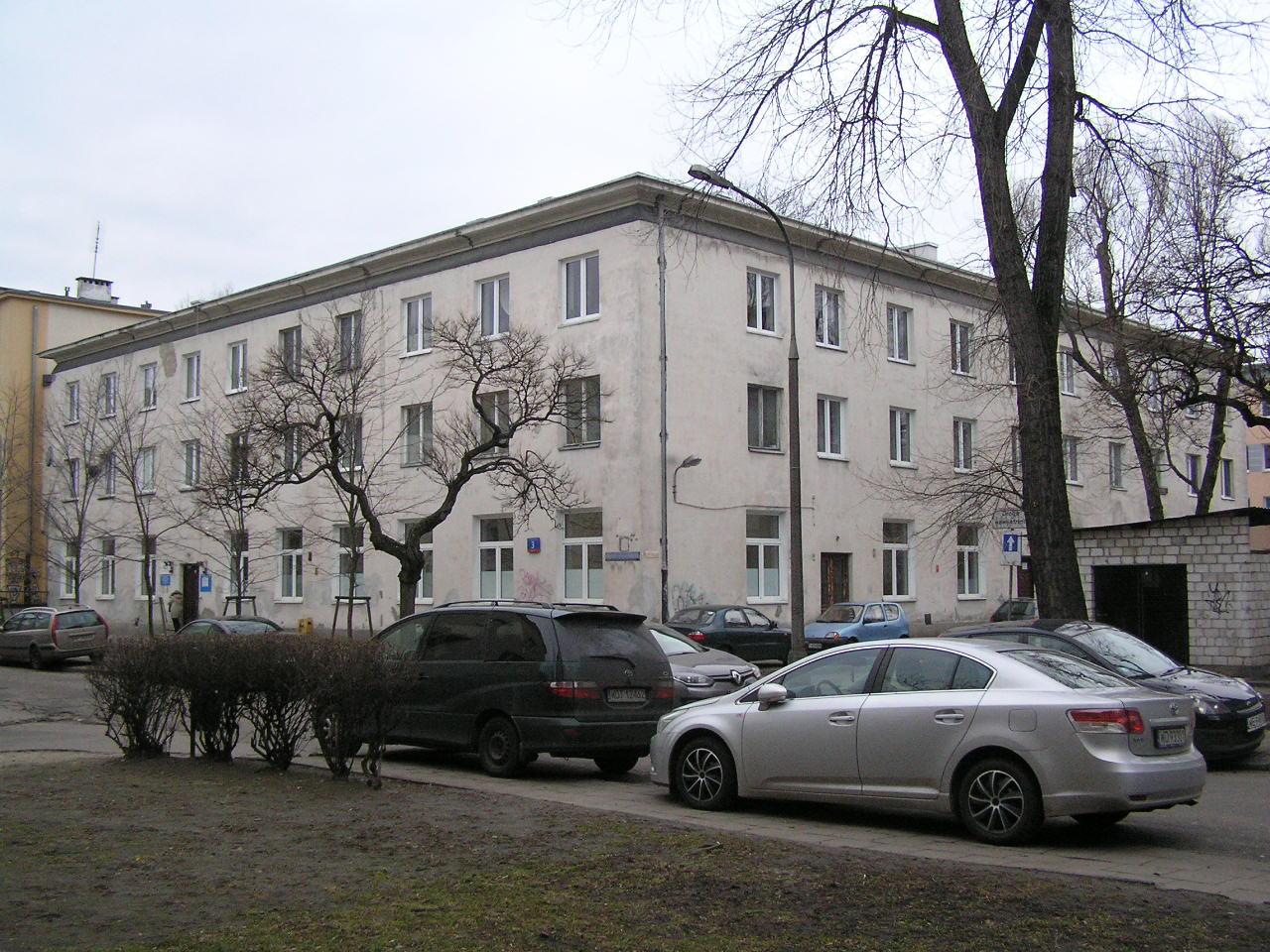 Budynek przy ulicy Tadeusza Sygietyńskiego 3 na Grochowie