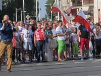 Mieszkańcy Grochowa oddali hołd powstańcom, fot. Beata Dylska