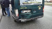 Wypadek na ulicy Grochowskiej przy Majdańskiej. fot. gazeta.pl