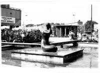 Pierwsze dni rzeźby na terenie Universamu