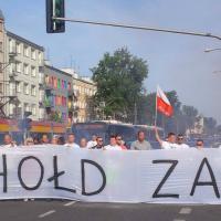 Mieszkańcy Grochowa oddali hołd powstańcom, fot. Marek Borkowski