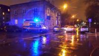 Dwie osoby potrącone na Sulejkowksiej, fot. TVN Warszawa