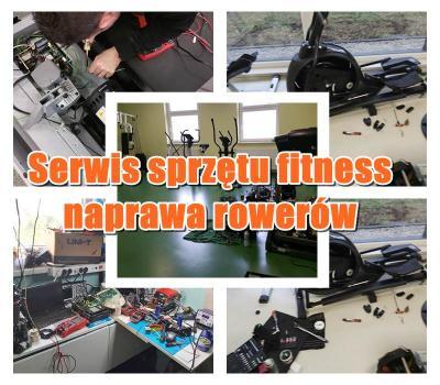 Serwis sprzętu fitness, rowerów Warszawa
