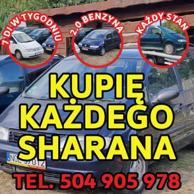 Skup VW Sharan, Kupię Każdego Sharana 2.0 Benzyna
