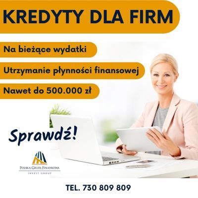 Kredyt dla Firm bez formalności wypłata w 24h