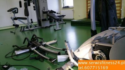 Serwis sprzętu fitness szpitale, sale rehabilitacj