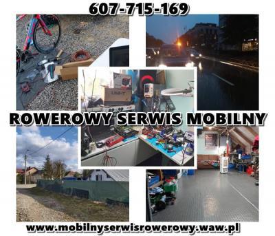 Mobilny Serwis Rowerowy, Rowery Konstancin