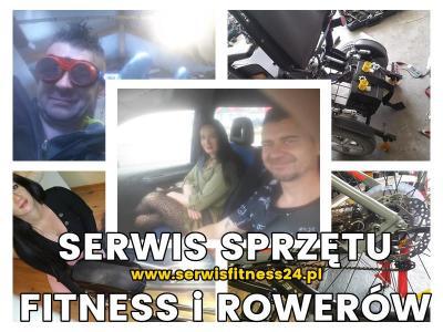 Serwis sprzętu fitness, rowerów Warszawa Grochów